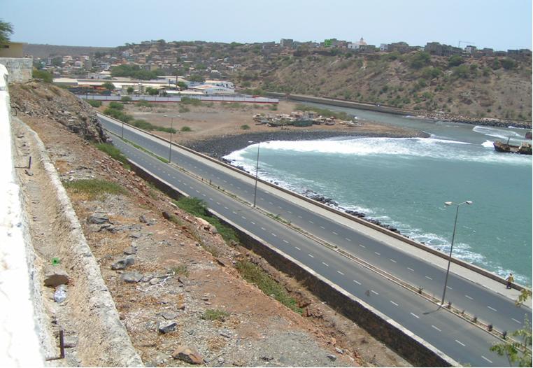 Aeroporto Beira Da Praia : Pengest cabo verde construção da estrada de acesso ao
